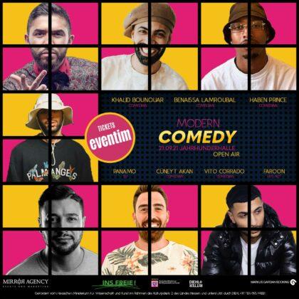 Modern Comedy 2021 l Artwork 1